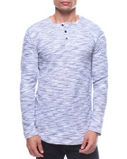 Henleys - SPACED DYED L/S HENLEY