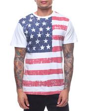 Shirts - S/S VINTAGE FLAG TEE