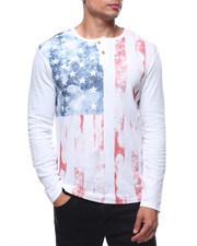 Henleys - L/S AMERICAN HENLEY THERMAL