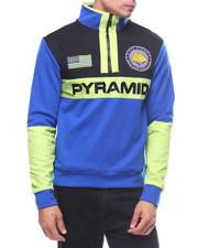 Pullover Sweatshirts - PYRAMID BLOCK PULLOVER