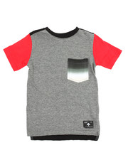 Tops - Broken Arrow Pocket Knit Shirt (2T-4T)