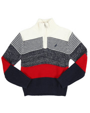 Nautica - Quarter Zip Sweater (2T-4T)