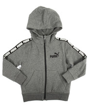 Hoodies - Full Zip Fleece Hoodie (4-7)