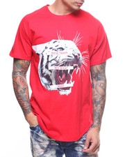 AKOO - SNOW LEOPARD BITE SCOOP TEE