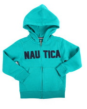 Nautica - Expedition Fleece Hoodie (4-7)