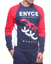 Enyce - Crewneck Color Block Sweatshirt