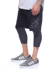 Adidas - DAME FOUNDATION TWO-IN-ONE SHORTS-2165721