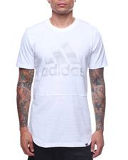 Shirts - BADGE OF SPORT STRIPED BURNOUT TEE