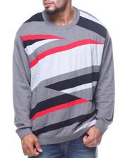 Sweaters - Graphic Instarsia Crew Neck Sweater (B&T)