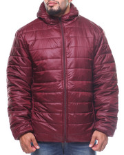 Outerwear - Hooded Puffer Jacket (B&T)-2163844