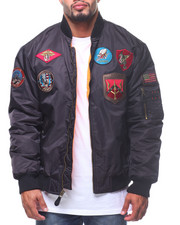 Men - MA-1 Patched Flight Jacket (B&T)