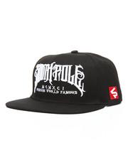 Men - Flat Brim Snapback Hat
