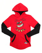 Tops - 2-Fer Character Hooded Tee (8-20)