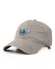 Dad Hats - Stitch Embroidered Washed Dad Cap-2166274