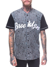 Buyers Picks - BROOKLYN SPLATTER BASEBALL TEE