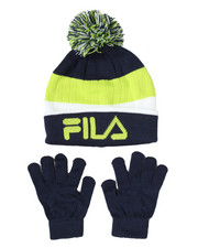 Gloves and Scarves - Knit Hat & Gloves Set-2166039