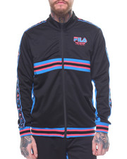 Athleisure for Men - PINK DOLPHIN X FILA HERITAGE TRACK JACKET