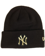 NBA, MLB, NFL Gear - New York Yankees Beveled Cuffed Knit Hat