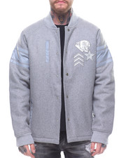 Born Fly - SLATE Fleece JACKET
