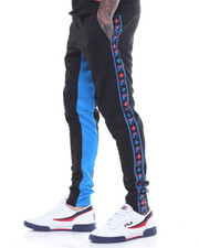 Men - PINK DOLPHIN X FILA HERITAGE TAPE TRACKPANT