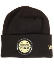 New Era - Detroit Pistons Beveled Cuffed Knit Hat
