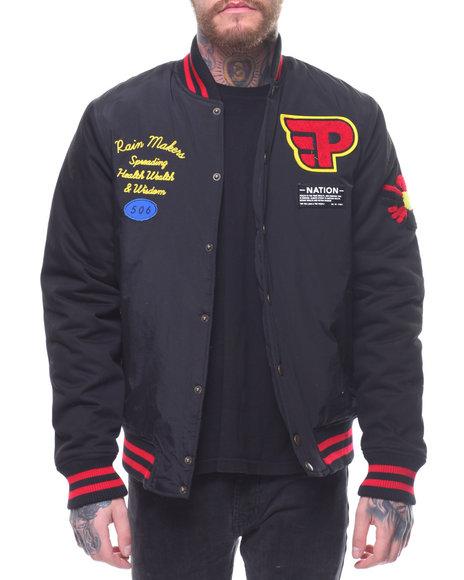 Parish - Nylon Varsity Jacket