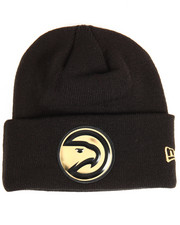NBA, MLB, NFL Gear - Atlanta Hawks Beveled Cuffed Knit Hat