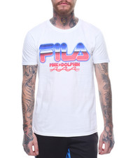 Pink Dolphin - PINK DOLPHIN X FILA CHROME TEE