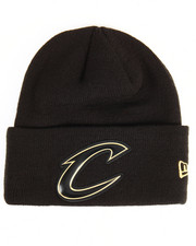 NBA, MLB, NFL Gear - Cleveland Cavaliers Beveled Cuffed Knit Hat