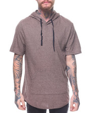 Buyers Picks - S/S COMBED RIBBED COTTON HOODY
