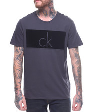Calvin Klein - CK FLOCKED LOGO S/S TEE