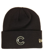NBA, MLB, NFL Gear - Chicago Cubs Beveled Cuffed Knit Hat