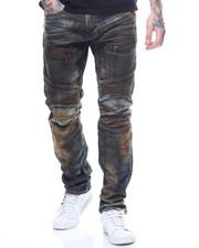 Jeans - CARGO POCKET MOTO JEAN