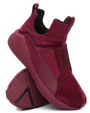 Footwear - Fierce Velvet Wms Sneakers