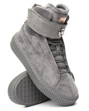 Footwear - Puma Platform Mid Velour Wn's Sneakers