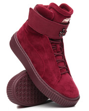 Sneakers - Puma Platform Mid Velour Wn