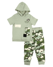 Sets - S/S Hoodie & Sweatpants Set (4-7)