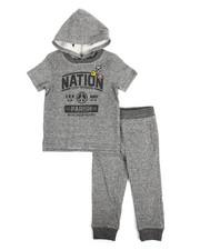 Sets - S/S Hoodie & Sweatpants Set (Infant)
