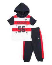 Parish - S/S Hoodie & Sweatpants Set (2T-4T)-2165103