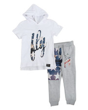 Boys - 2 Piece Hoodie & Jogger Set (4-7)