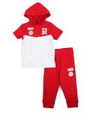 Boys - S/S Hoodie & Sweatpants Set (Infant)