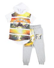 Boys - 2 Piece Hoodie & Jogger Set (2T-4T)