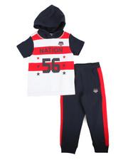 Boys - S/S Hoodie & Sweatpants Set (4-7)