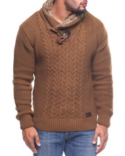 The Camper - L/S Toggle Neck Sweater (B&T)