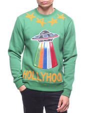 Pullover Sweatshirts - HOLLYHOOD CREWNECK SWEATSHIRT