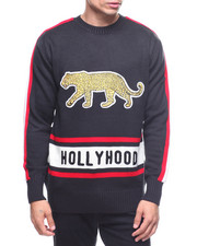 Sweatshirts & Sweaters - Hollywood Leopard Sweater