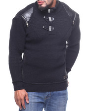 Men - L/S Toggle Sweater (B&T)
