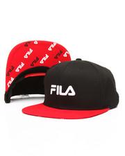 Boys - Contrast Flat Brim Snapback Hat