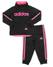 Girls - Linear Tricot Set (2T-4T)