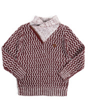 Sweatshirts & Sweaters - Shawl Pullover Sweater (8-20)